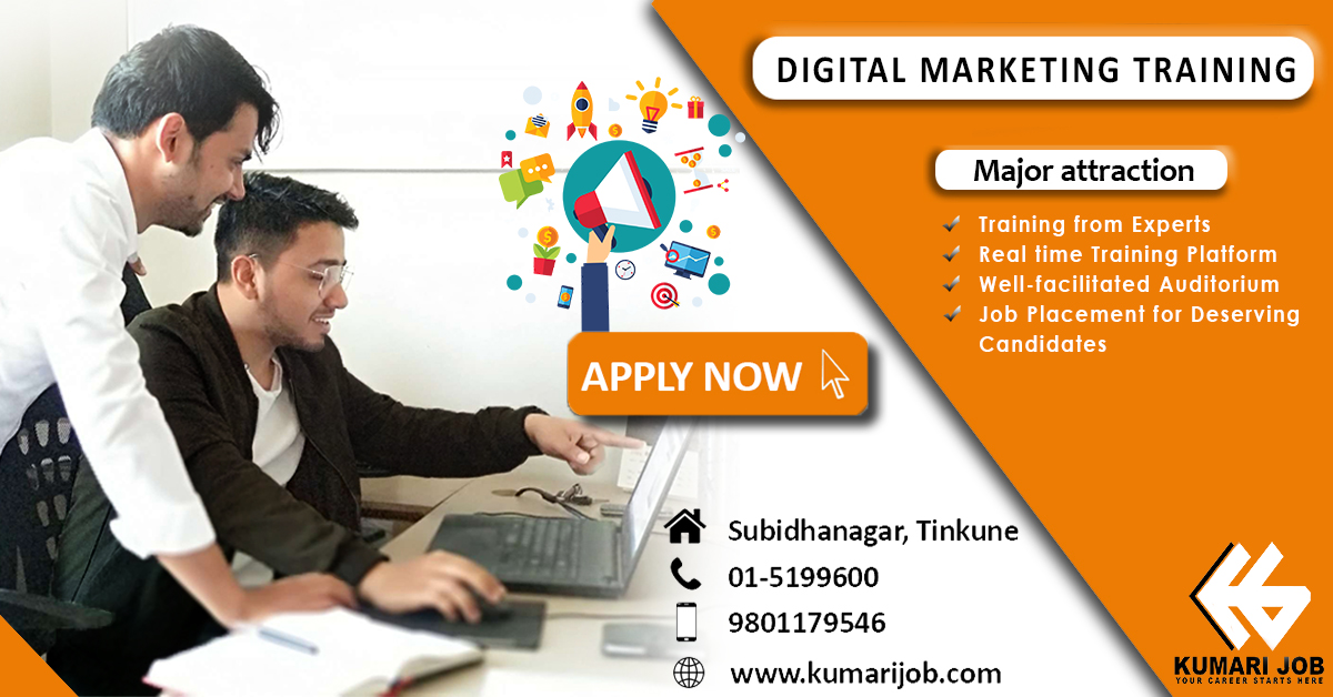 kumarijob digital marketing training