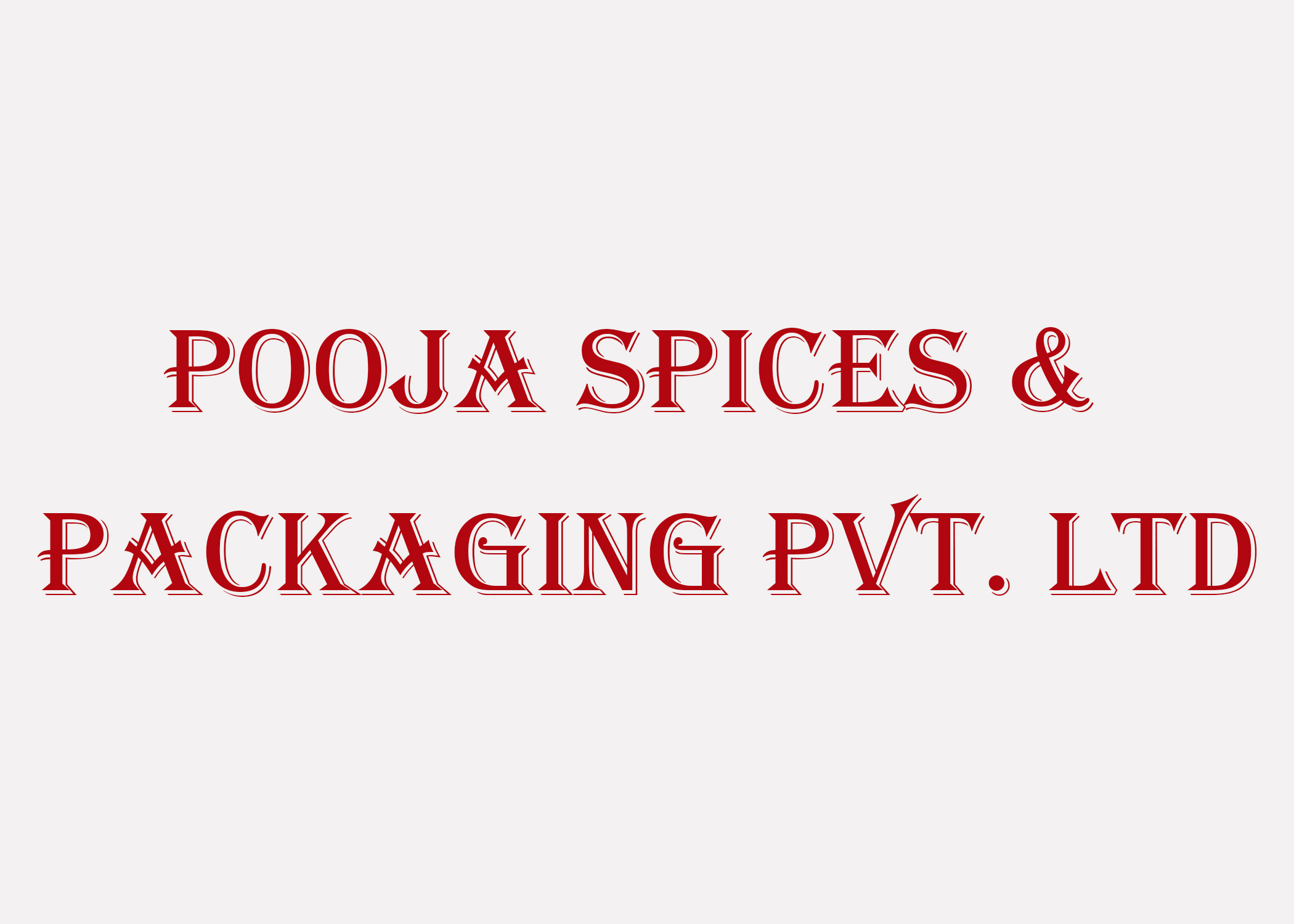 Pooja Spicies and Packaging Pvt.Ltd